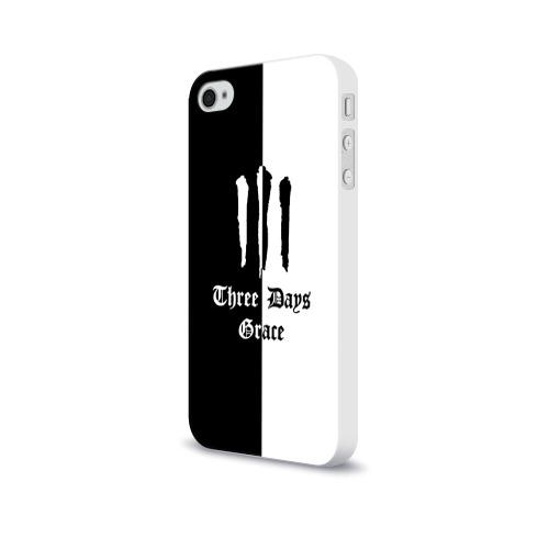 Чехол для Apple iPhone 4/4S soft-touch  Фото 03, Three Days Grace
