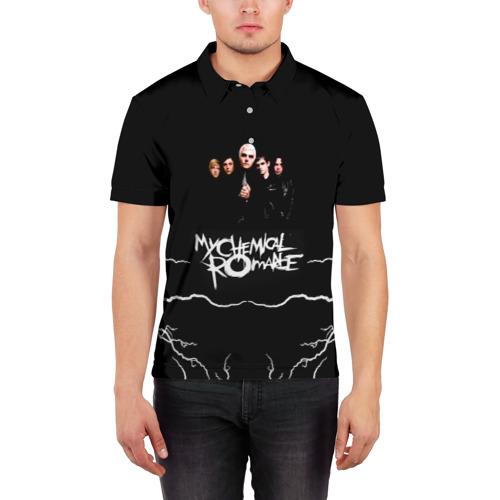 Мужская рубашка поло 3D  Фото 03, My Chemical Romance