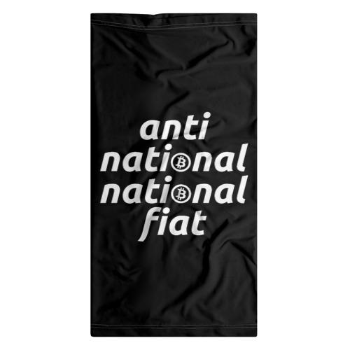 Бандана-труба 3D  Фото 07, Anti National National Fiat