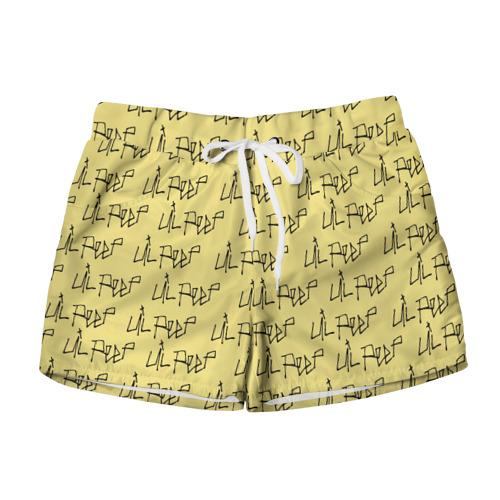 Женские шорты 3D LiL PEEP Pattern