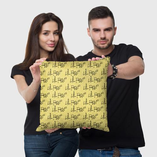 Подушка 3D  Фото 05, LiL PEEP Pattern