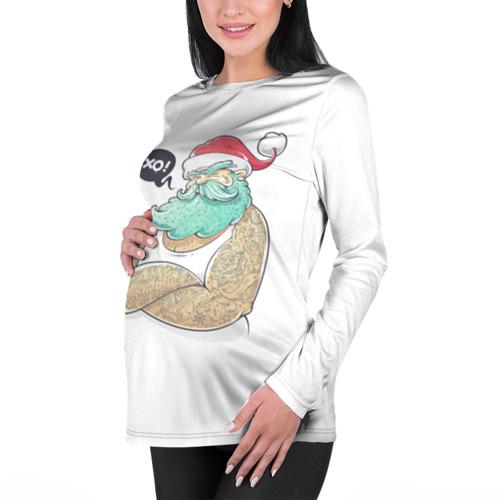 Женский лонгслив 3D для беременных  Фото 01, Big Santa