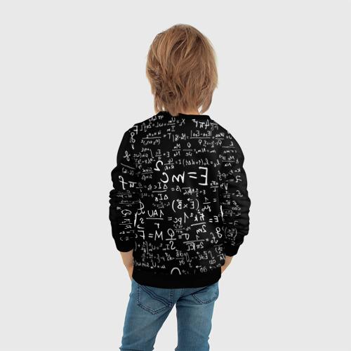 Детский свитшот 3D Формулы E=mc2 Фото 01