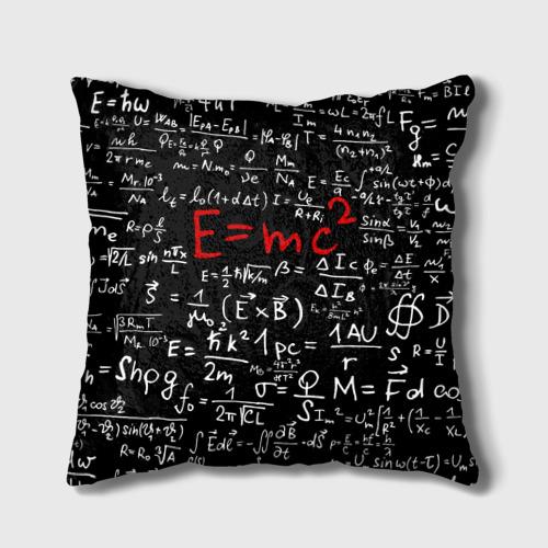 Подушка 3D  Фото 01, Формулы E=mc2