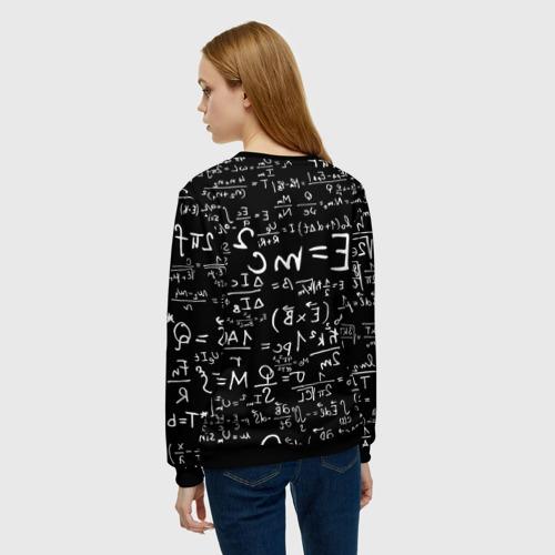 Женский свитшот 3D Формулы E=mc2 Фото 01