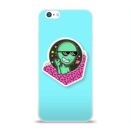 Чехол для Apple iPhone 6 силиконовый глянцевый  Фото 01, UFO BRO