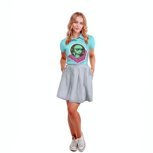 Женская рубашка поло 3D  Фото 04, UFO BRO