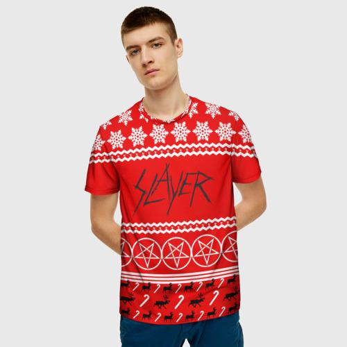 Мужская футболка 3D Праздничный Slayer Фото 01
