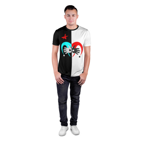 Мужская футболка 3D спортивная Алиса Фото 01