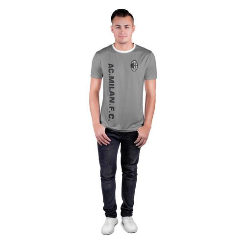 Мужская футболка 3D спортивная  Фото 04, AC MILAN