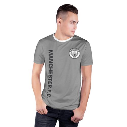 Мужская футболка 3D спортивная  Фото 03, F.C.M.C. 2018 Vintage
