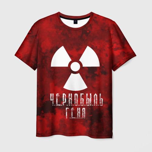 Мужская футболка 3D  Фото 03, Ч.Е.Р.Н.О.Б.Ы.Л.Ь ГЕНА