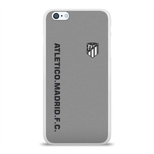 Чехол для Apple iPhone 6Plus/6SPlus силиконовый глянцевый  Фото 01, Atletico Madrid 2018 Vintage