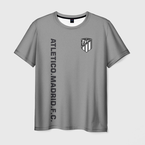 Мужская футболка 3D  Фото 01, Atletico Madrid 2018 Vintage