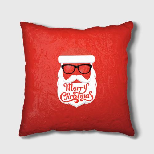 Подушка 3D  Фото 01, Крутой Santa