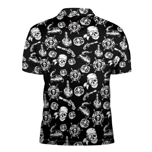 Мужская рубашка поло 3D  Фото 02, Pirates Pattern