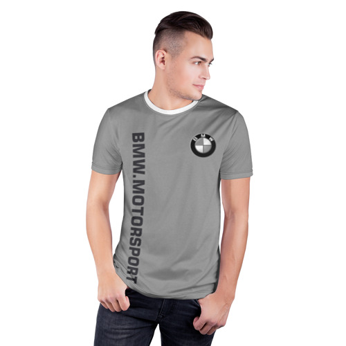 Мужская футболка 3D спортивная  Фото 03, BMW Vintage