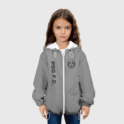 Детская куртка 3D  Фото 04, PSG 2018 Vintage