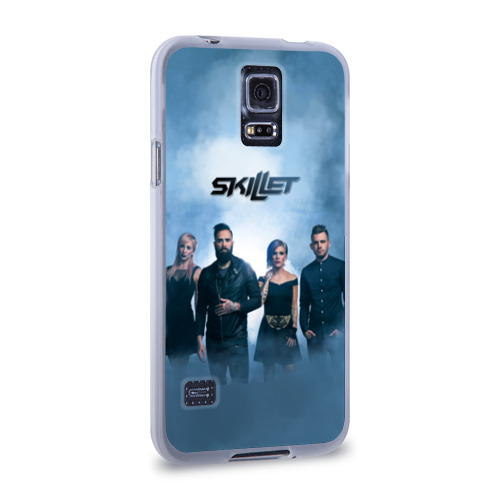 Чехол для Samsung Galaxy S5 силиконовый  Фото 02, Skillet