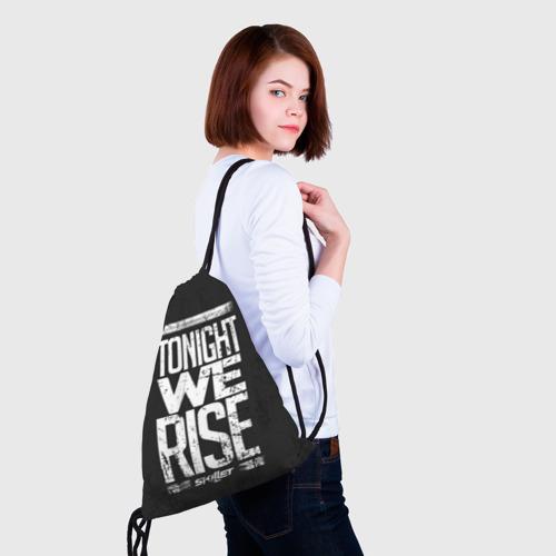 Рюкзак-мешок 3D  Фото 02, We Rise