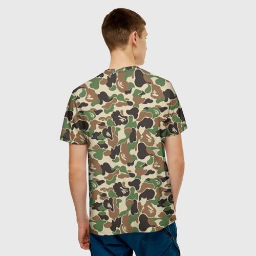 Мужская футболка 3D  Фото 02, Камуфляж