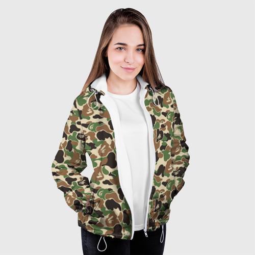 Женская куртка 3D  Фото 04, Камуфляж