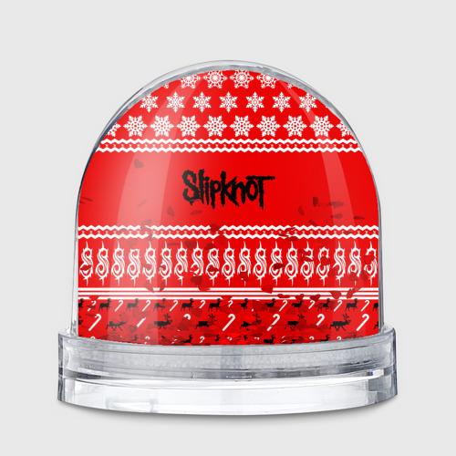 Водяной шар  Фото 01, Праздничный Slipknot