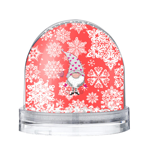Водяной шар со снегом  Фото 01, Помощник санты