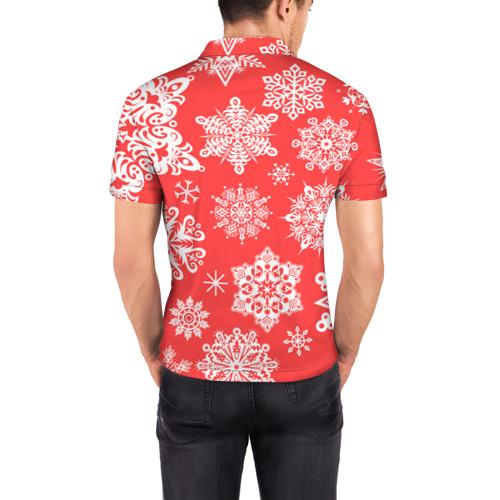 Мужская рубашка поло 3D  Фото 04, Помощник санты