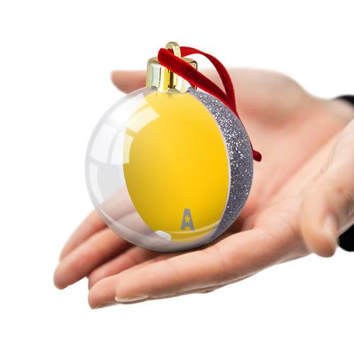 Ёлочный шар с блестками  Фото 03, А