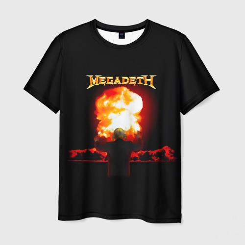 Мужская футболка 3D  Фото 03, Megadeth
