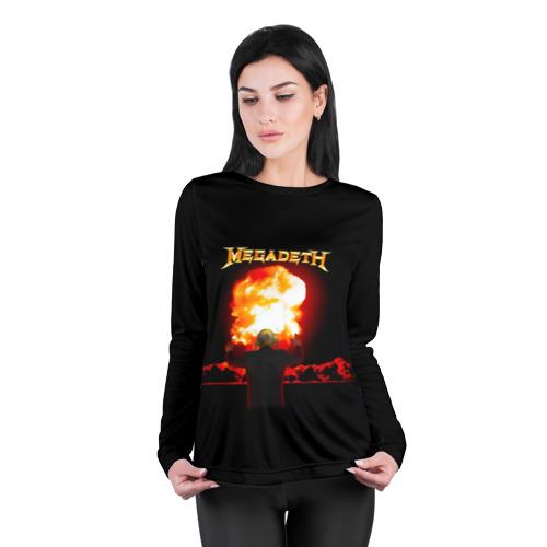Женский лонгслив 3D для беременных  Фото 04, Megadeth