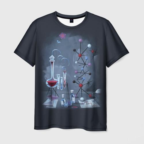 Мужская футболка 3D  Фото 01, Химик