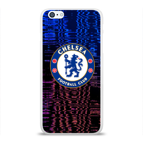 Чехол для Apple iPhone 6Plus/6SPlus силиконовый глянцевый  Фото 01, Chelsea football sport 2018