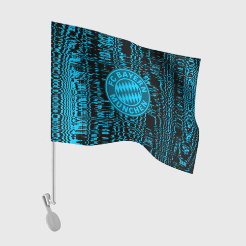 Флаг для автомобиля FC Bayern 2018 Abstract style