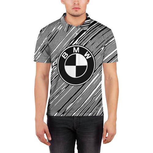 Мужская рубашка поло 3D  Фото 03, BMW SPORT LINE