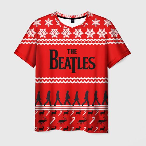 Мужская футболка 3D  Фото 01, Праздничный The Beatles