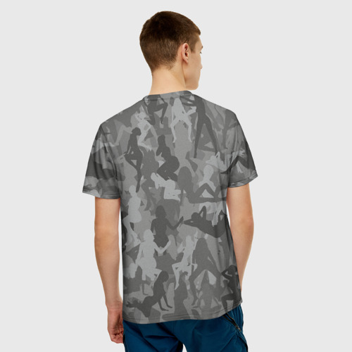 Мужская футболка 3D  Фото 02, Sexy-Military