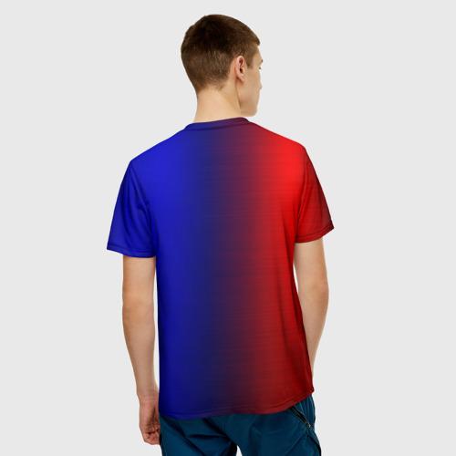 Мужская футболка 3D  Фото 02, BMW SPORT ABSTRACT