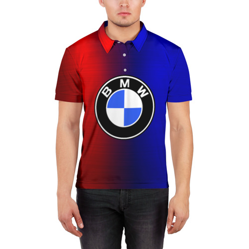 Мужская рубашка поло 3D  Фото 03, BMW SPORT ABSTRACT