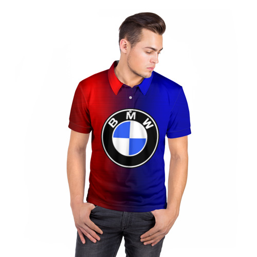 Мужская рубашка поло 3D  Фото 05, BMW SPORT ABSTRACT
