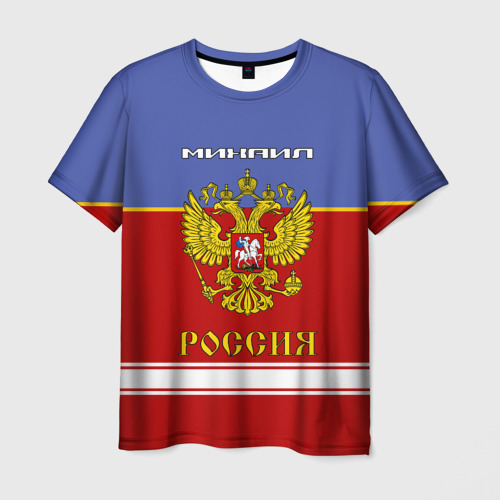 Мужская футболка 3D  Фото 03, Хоккеист Михаил