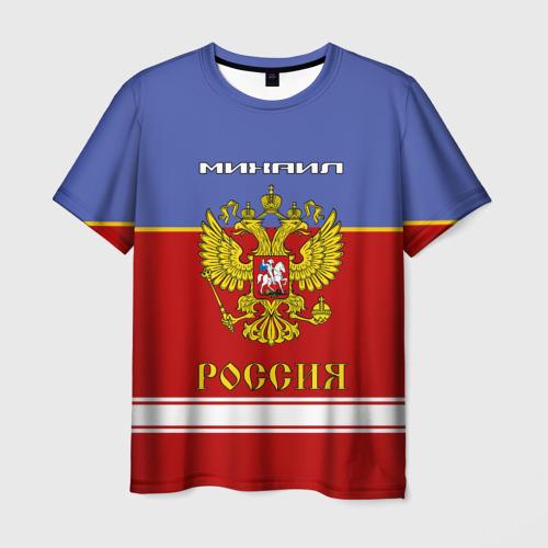 Мужская футболка 3D  Фото 01, Хоккеист Михаил