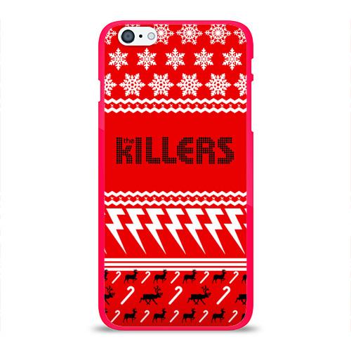 Чехол для Apple iPhone 6Plus/6SPlus силиконовый глянцевый  Фото 01, Праздничный The Killers