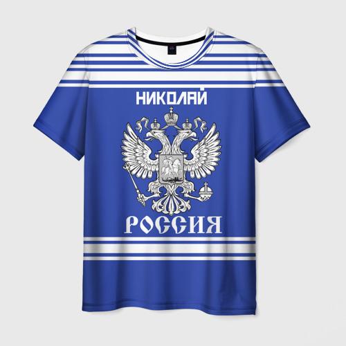 Мужская футболка 3D  Фото 01, Николай SPORT UNIFORM 2018