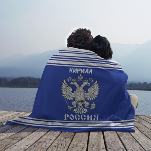 Плед 3D  Фото 02, Кирилл SPORT UNIFORM 2018
