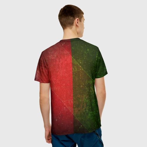 Мужская футболка 3D  Фото 02, Локомотив
