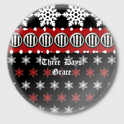 Праздничный Three Days Grace - интернет магазин Futbolkaa.ru