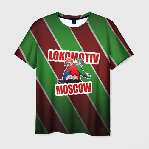 Мужская футболка 3D  Фото 01, Локомотив