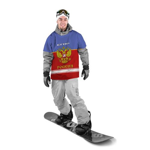 Накидка на куртку 3D  Фото 03, Хоккеист Егор